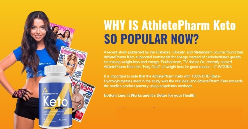 AthletePharm Keto Reviews 2021 – Does it Really Work?