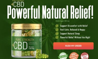 Pure Strength CBD Gummies Canada Reviews 2021 (April) - Does it Really Work?