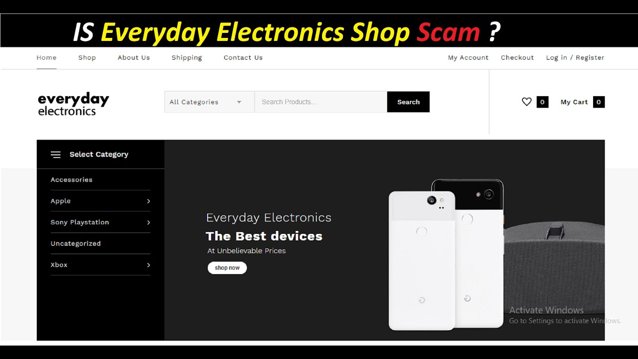 Everyday Electronics Shop Reviews 2021 – Legit or a Scam?