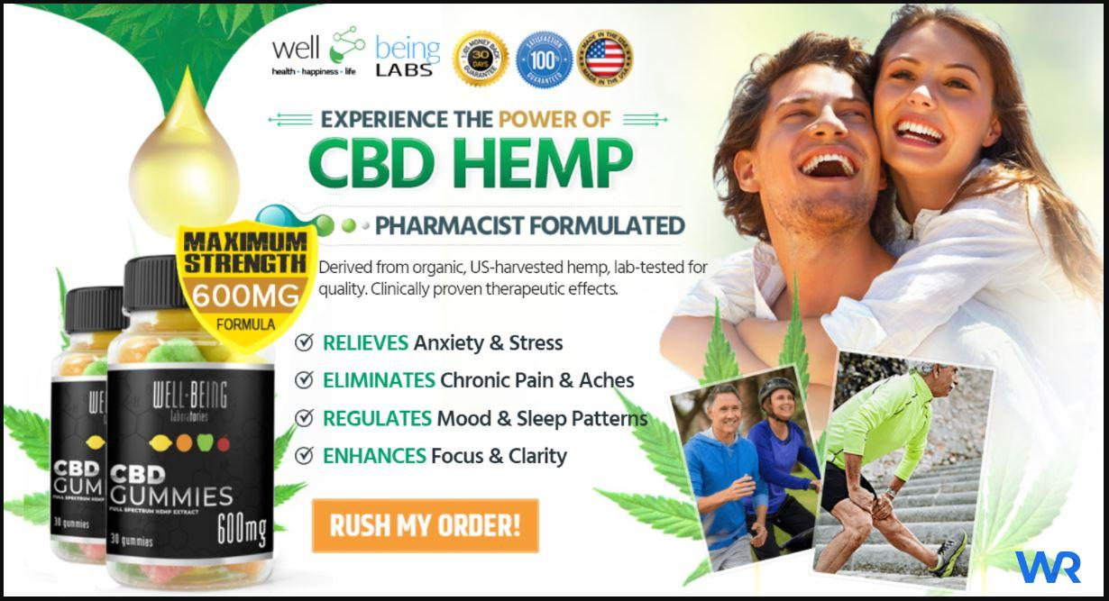 Well Being CBD Gummies Reviews (April) – Read Before You Buy