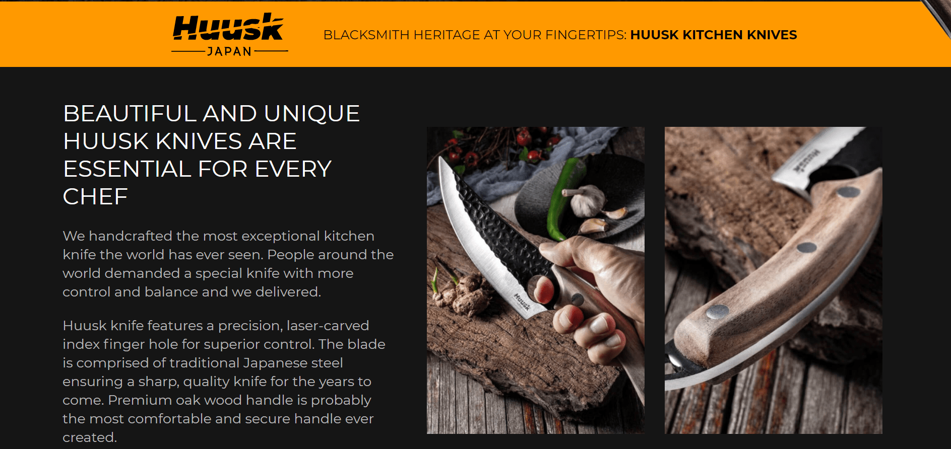 Huusk Handmade Knives Review – Made In Japan – Quality Item