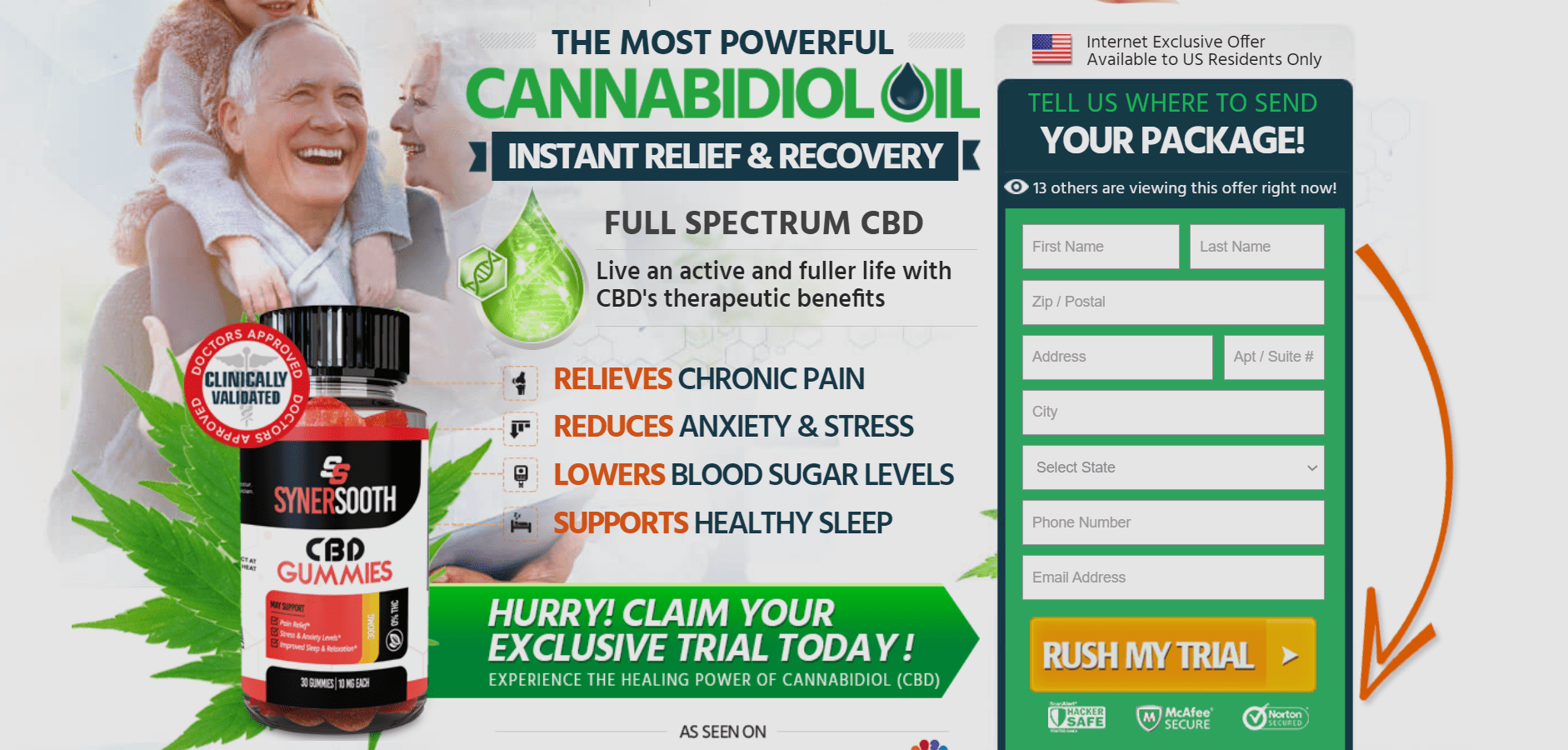 SynerSooth CBD Gummies Reviews - Does it Really Work?